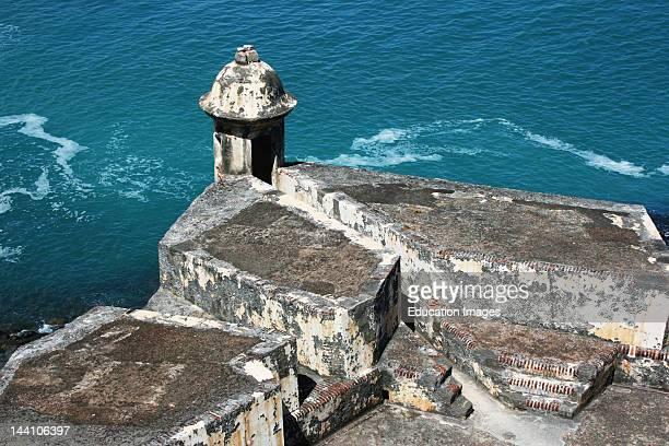Puerto Rico El Morro Fort In Old San Juan