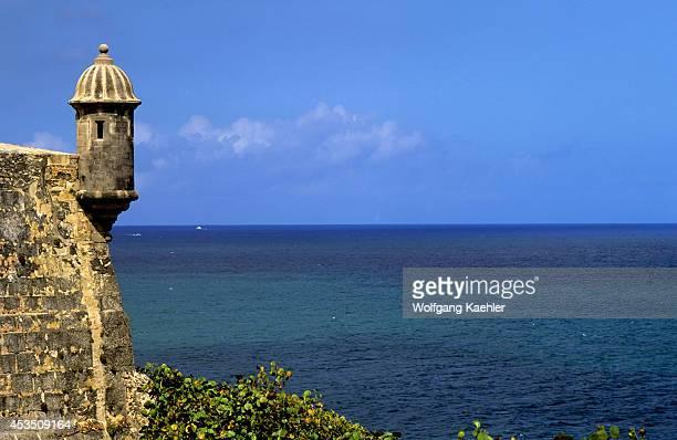Puerto Rico Old San Juan Castillo Del Morro Fortress Sentries Lookout