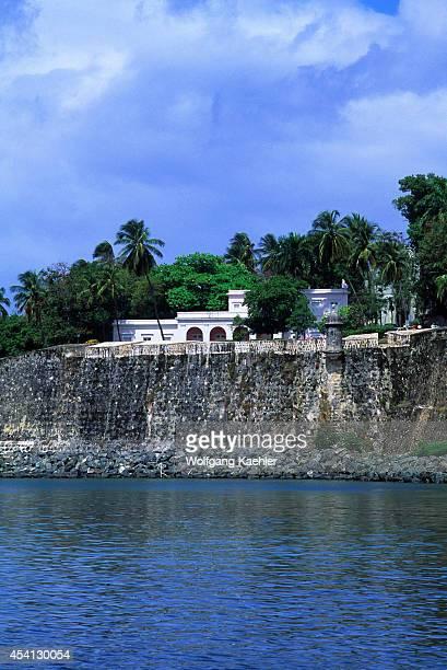 Puerto Rico Old San Juan City Wall