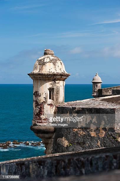 Puerto Rico, Old San Juan, section of El Morro Fortress