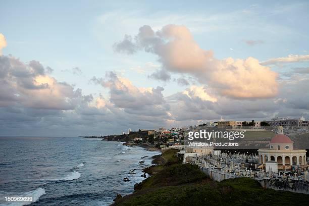 Puerto Rico, Old San Juan, Waterfront view