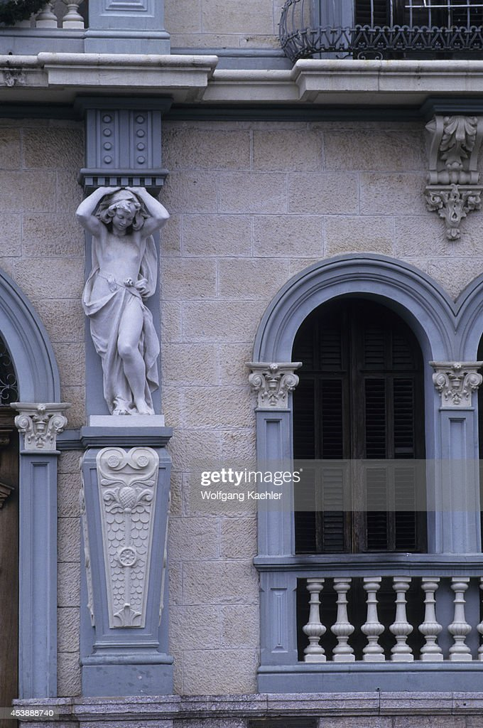 Puerto Rico, Ponce, Detail Of Local House.