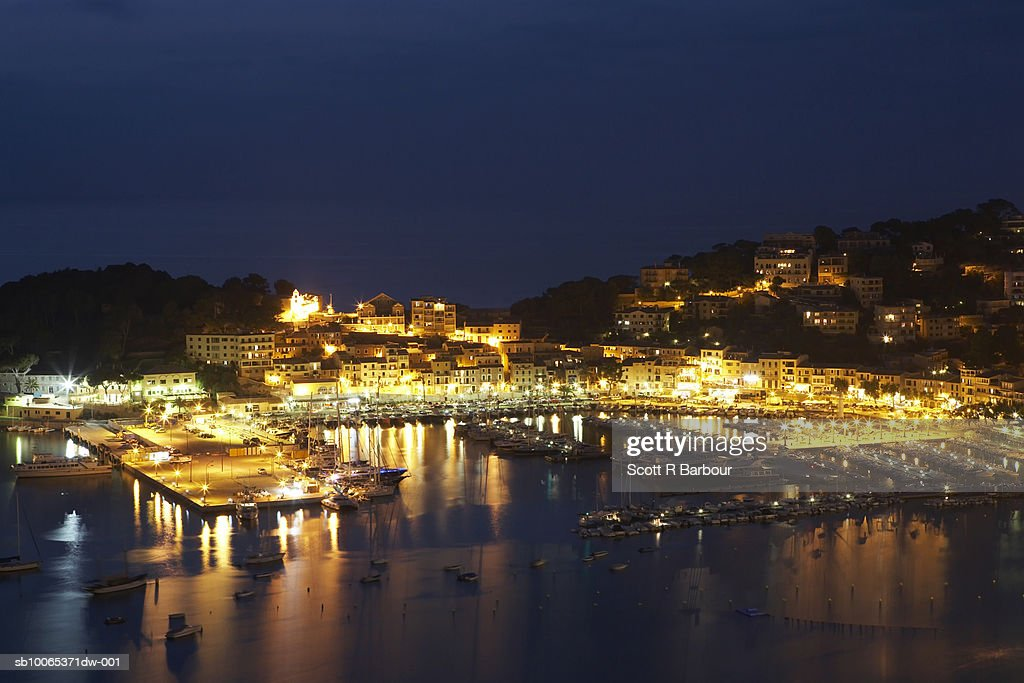 Puerto Soller, Mallorca, Balearic Islands, Spain  : Foto stock