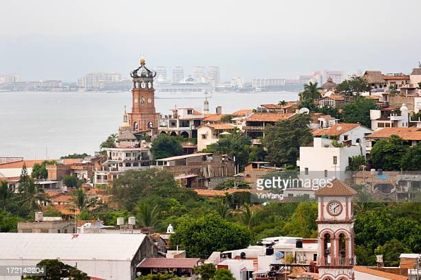 Puerto Vallarta Mexico, City, Beach Vacation, Travel with Cruise Ship