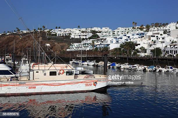 Puerto Viero part of Puerto del Carmen Lanazrote Canary islands canaries spain