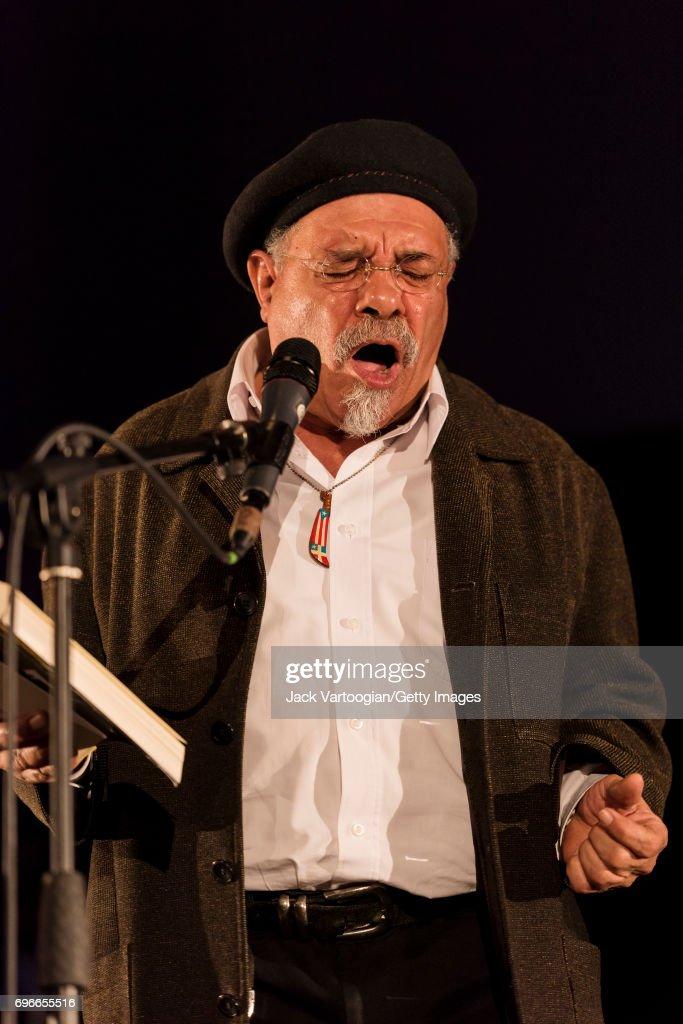 Puerto Rican American Poet Jesus Papoleto Melendez Reads From His