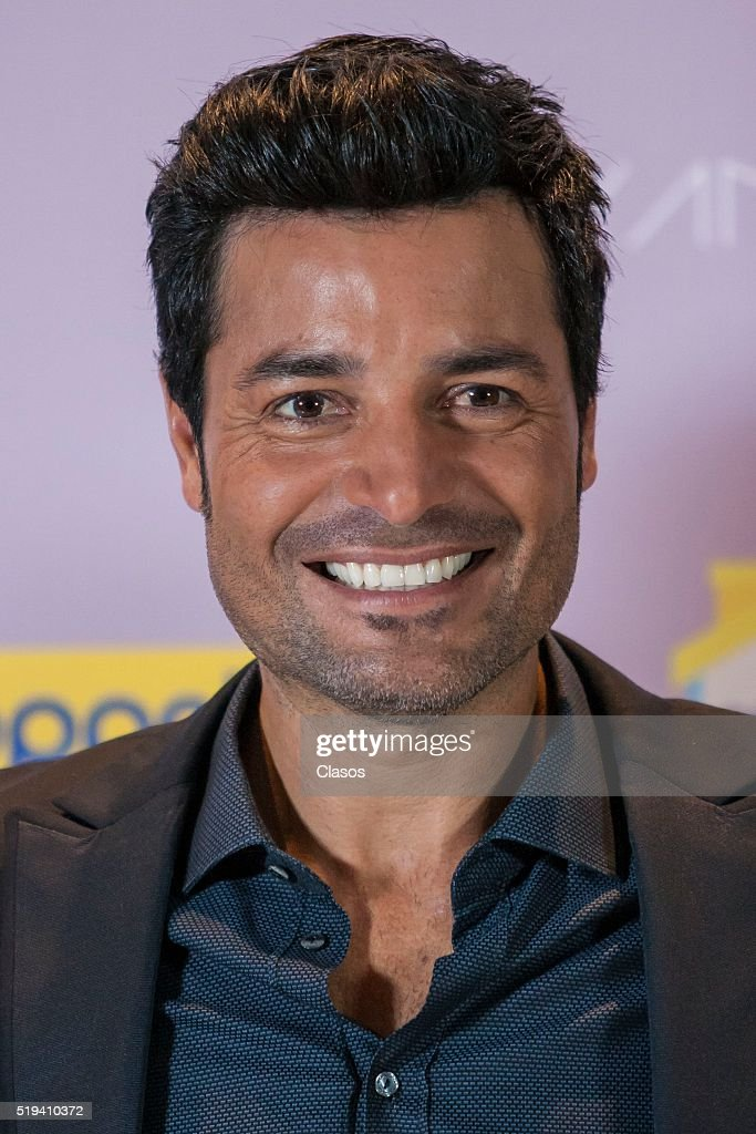Chayanne Photocall in Mexico : News Photo