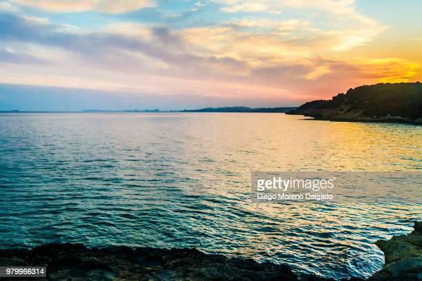 Puesta de sol en Altafulla - Sunset in Altafulla