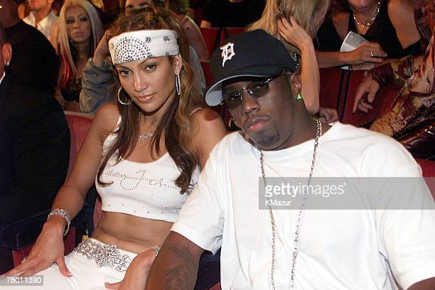Puff Daddy and Jennifer Lopez