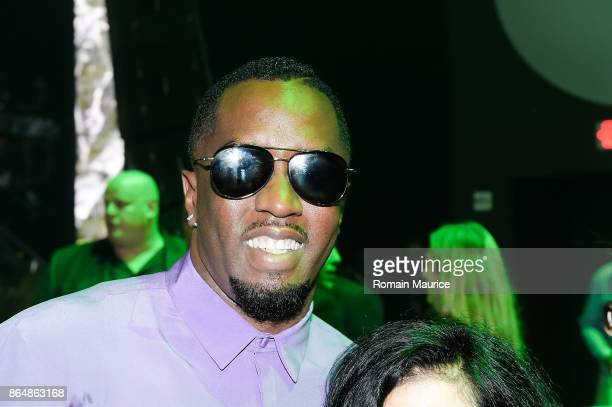 Puff daddy attends Tot Living By Haute Living Celebrates Asahd's First Birthday With Cybex on October 21 2017 in Miami Florida