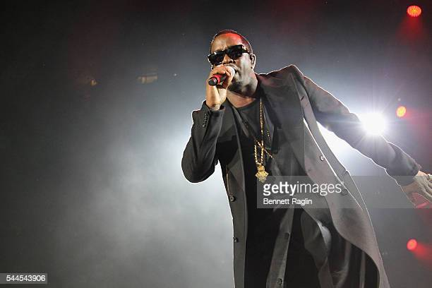 Puff Daddy performs onstage at 2016 ESSENCE Festival Presented by Coca Cola at the Louisiana Superdome on July 3 2016 in New Orleans Louisiana