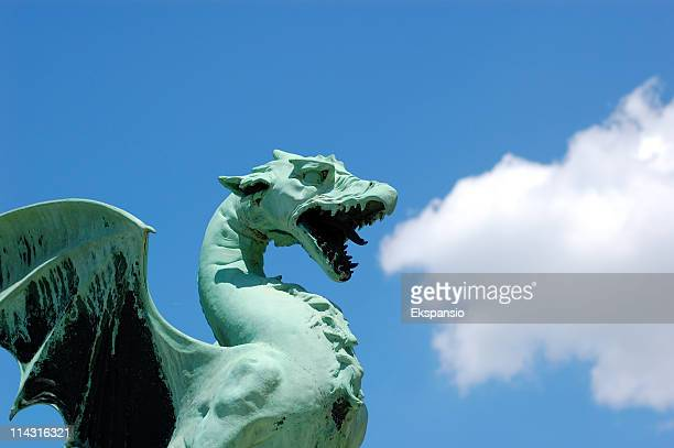 puff the magic dragon - dragon stock photos and pictures