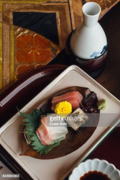 Puffer fish Kaiseki cuisine