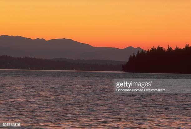 Puget Sound at Sunset