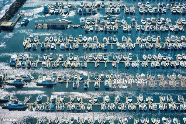 Puget Sound Marina Aerial