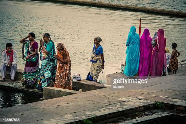 Puja in Pushkar India