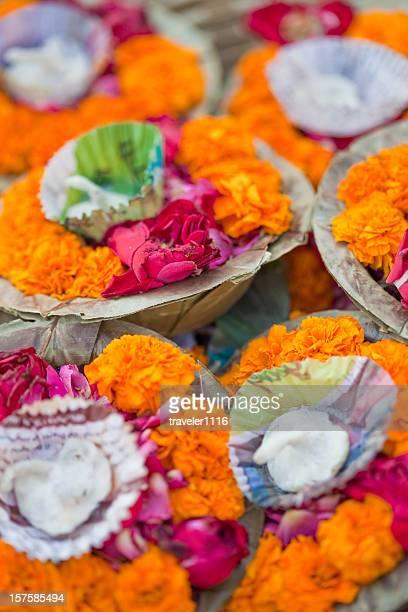 Puja In Varanasi, India