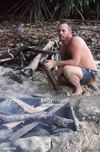 SURVIVOR Pulau Tiga Borneo / South China Sea Season One Tagi Tribe member Richard Hatch 2000