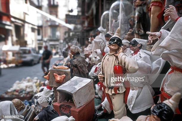 Pulcinella puppet from Naples