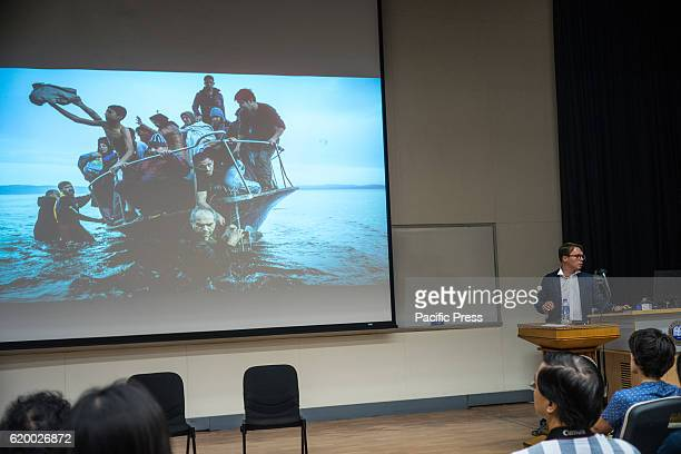 Pulitzer Prize Winner Sergey Ponomarev is invited to give lecture at the Hong Kong International Photography Festival Lecture Topic 'To be or not to...