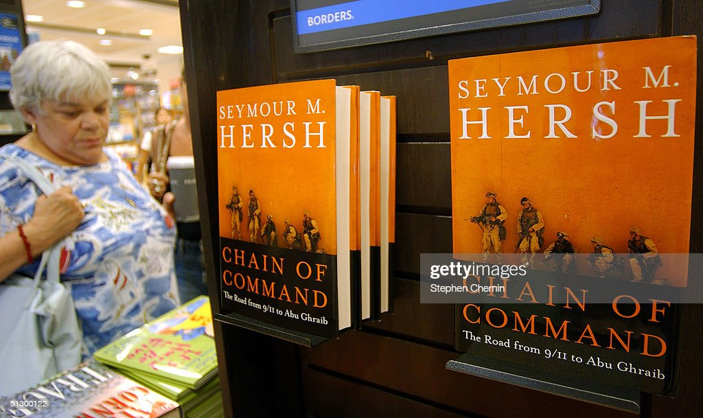 Pulitzer Prize Winning Author Seymour Hershs New Book Chain Of