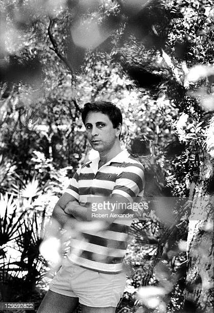 Pulitzer Prize winning classical music composer John Corigliano poses in the woods adjacent to his residence at Atlantic Center for the Arts in New...