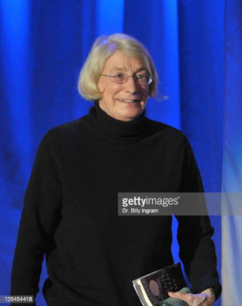 Pulitzer Prize winning poet, Mary Oliver attends day 3 of Maria Shriver's Women's Conference 2010 at the Long Beach Convention Center on October 26,...