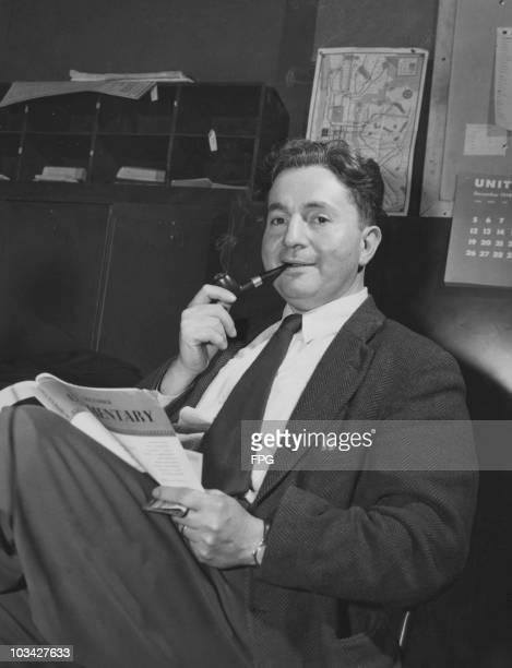 Pulitzer Prize winning writer Ira Wolfert in 1948