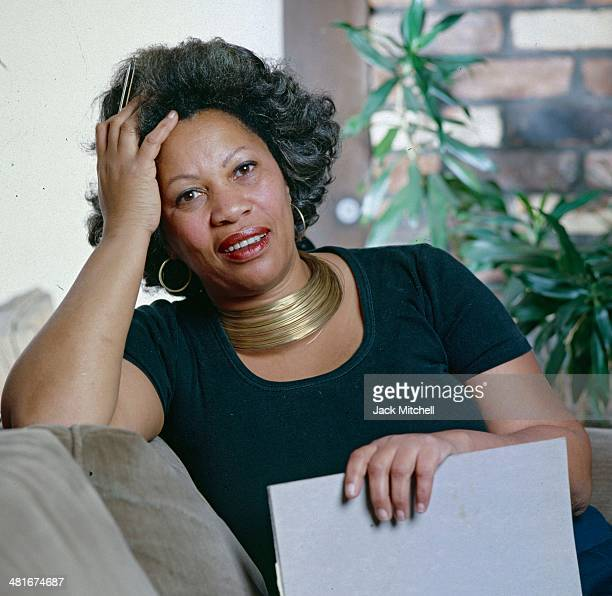 Pulitzer Prize-winning author Toni Morrison photographed in New York City in 1979.