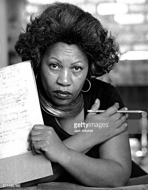 Pulitzer Prize-winning author Toni Morrison photographed in New York City in 1979. .