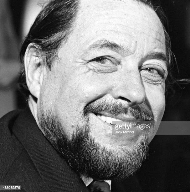 Pulitzer Prize-winning playwright Tennessee Williams during a break in rehearsals of 'Summer and Smoke' in April 1971.