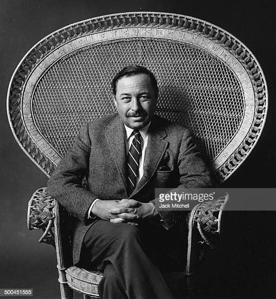 Pulitzer Prizewinning playwright Tennessee Williams photographed in 1966