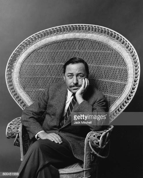 Pulitzer Prize-winning playwright Tennessee Williams photographed in 1966.