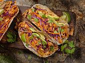 BBQ Pulled JACK FRUIT Taco