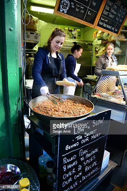 Pulled pork at Borough Market