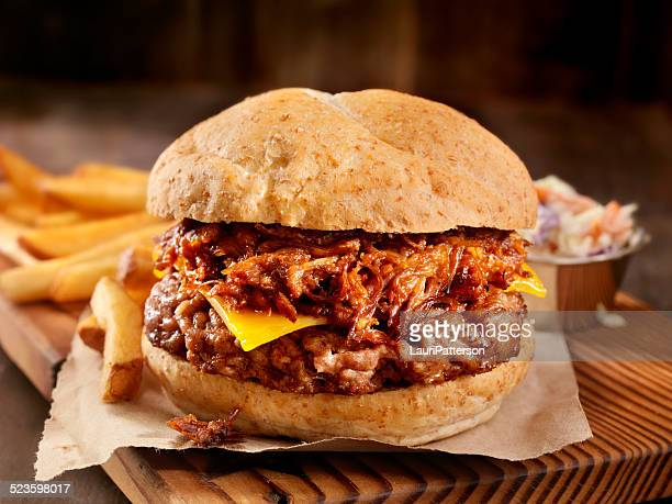 Pulled Pork Hamburger