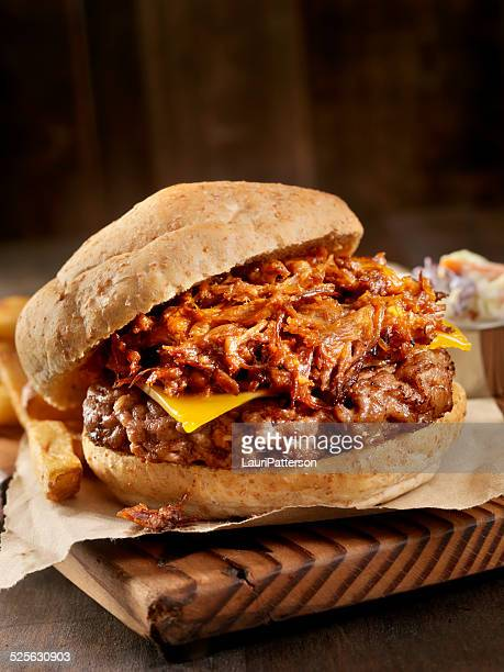 Pulled Pork Hamburger