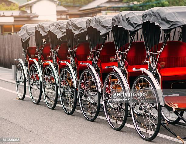 Pulled Rickshaws