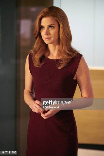 """Pulling the Goalie"""" Episode 714 -- Pictured: Sarah Rafferty as Donna Paulsen --"""