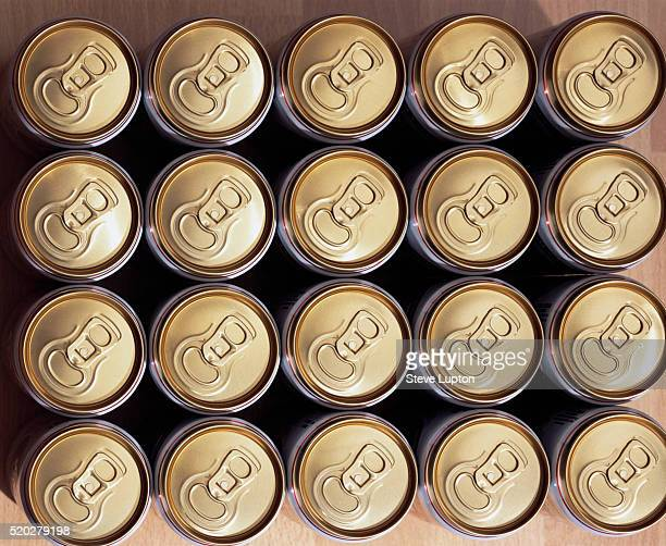 Pull-Tab Beer Cans
