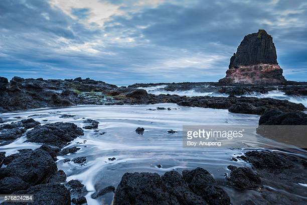 Pulpit rock of Cape Schanck of Mornington Peninsula, Australia.