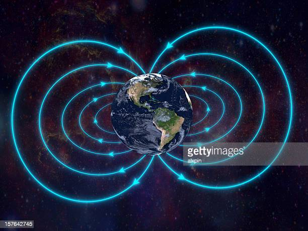 pulsed electromagnetic frequencies tuned to the earth  - magnet stock pictures, royalty-free photos & images