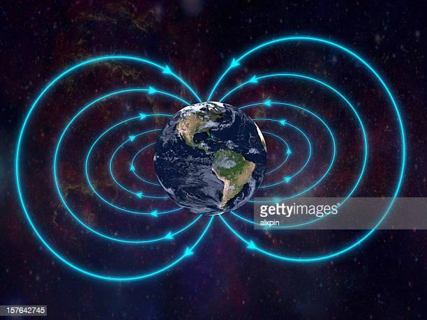 campo magnético da terra - ímã - fotografias e filmes do acervo