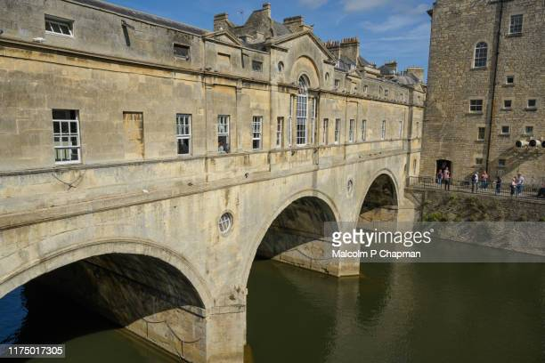 pulteney bridge, bath, uk - bath england stock pictures, royalty-free photos & images