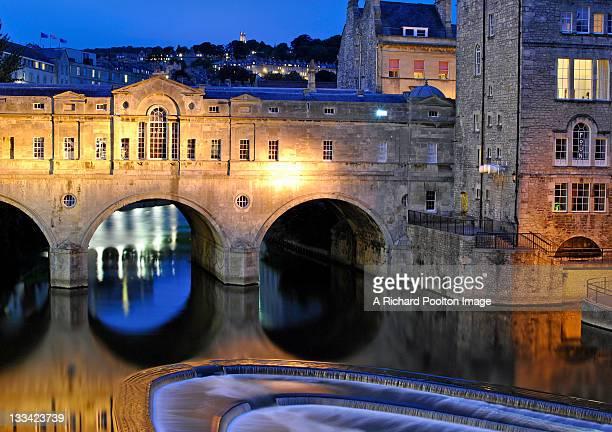 pulteney bridge - bath england stock photos and pictures