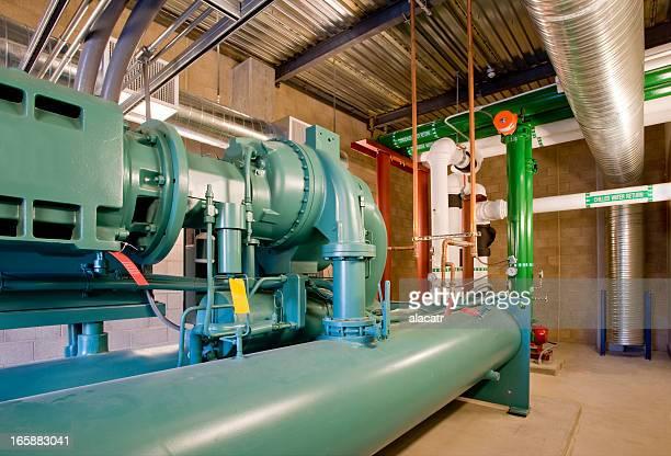 Pump and Compressor for HVAC System