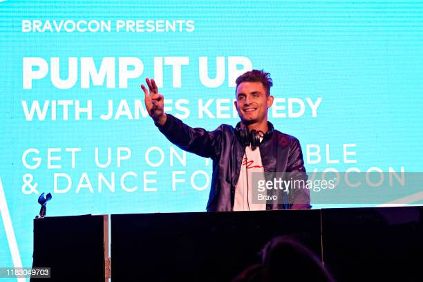 BRAVOCON Pump It Up with James Kennedy at Union West in New York City on Sunday November 17 2019 Pictured James Kennedy