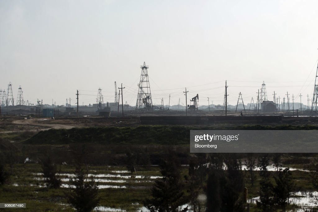Oil Operations on the Outskirts of Baku