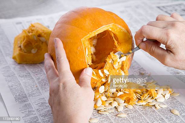 Pumpkin Carving for Halloween