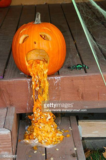 pumpkin - vomiting stock photos and pictures
